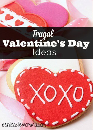 Valentine's Day is a fun holiday to celebrate, and you don't have to spend tons of money to make it special with these frugal Valentine's Day tips.