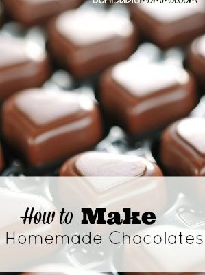 How to Make Homemade Chocolates {with Step-by-Step Instructions}