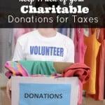 Como manter o controle de suas doações de caridade para impostos 1