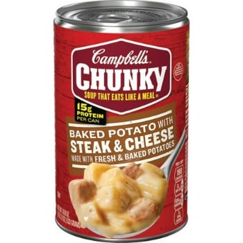 picture regarding Campbell Soup Printable Coupon identified as Printable Coupon: $1/4 Campbells Chunky Soup + Focus Package deal
