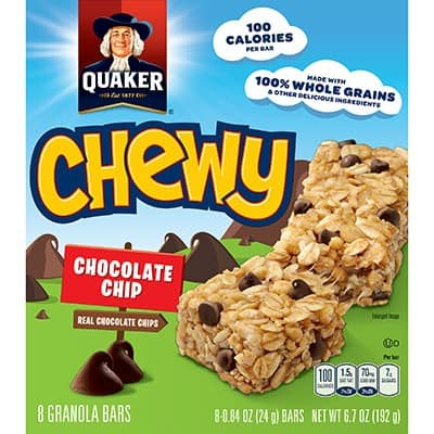 picture about Quaker Printable Coupons named Printable Coupon: $1/2 Quaker Chewy Granola Bars + Walmart