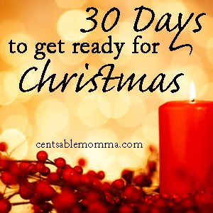 Day 30: Relax {30 Days to Get Ready for Christmas}