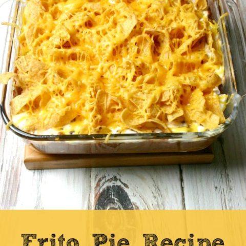 Frito Pie Recipe