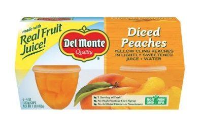 Printable Coupon: $1/2 Del Monte Fruit Cups + Walmart Deal