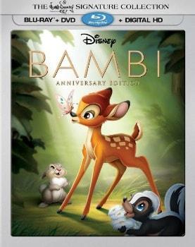 Bambi Blu-ray/DVD Signature Edition Combo: $7.49 (75% off)