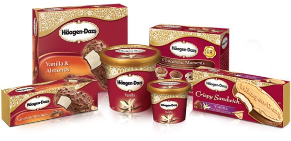 picture relating to Haagen Dazs Coupon Printable named Printable Coupon: $1.10/3 Haagen-Dazs Ice Product Bars +