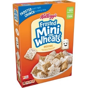 Printable Coupon: $1/2 Kellogg's Frosted Mini Wheats Cereals + Walmart Deal