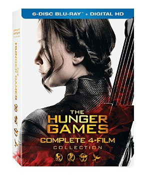 The Hunger Games: Complete 4 Film Collection Blu-ray: $19.99 (60% off)