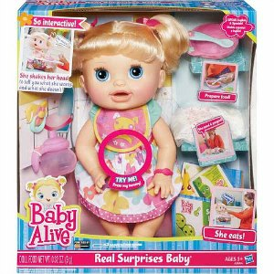 image relating to Alive Printable Coupon titled Printable Coupon: $5/1 Boy or girl Alive Accurate Surprises Little one Doll +