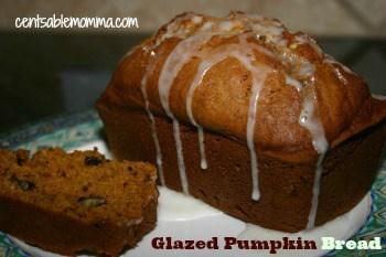 Pumpkin-Glaze-Mini-Loaf-Bread