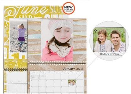 Shutterfly: FREE 8×11 Photo Calendar
