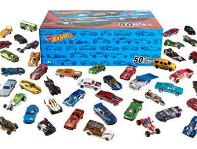 Hot Wheels Basic Cars (50 pk.): $29.99 (50% off) + FREE Shipping