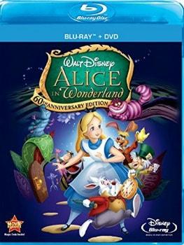 Alice in Wonderland 60th Anniversary Blu-ray/DVD Combo: $8.04 (43% off)