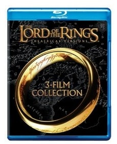 Lord of the Rings: Original Theatrical Trilogy Blu-ray: $5.96 (76% off)