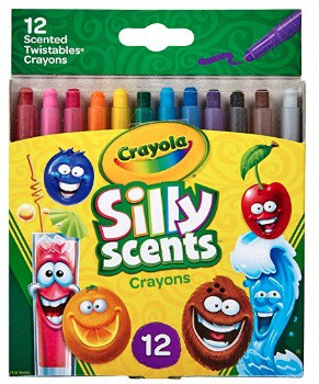 Crayola Silly Scents Twistables Crayons (12 pk.), $2.20 (49% off)