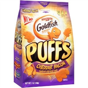 photograph about Goldfish Printable Coupons identified as Printable Coupon: $0.50 off Goldfish Puffs + Walmart Offer
