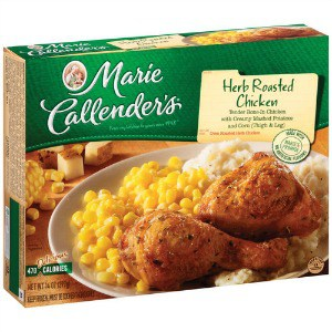 image regarding Marie Callender Coupons Printable known as Printable Coupon: $1/2 Marie Callender Frozen Food items + Focus
