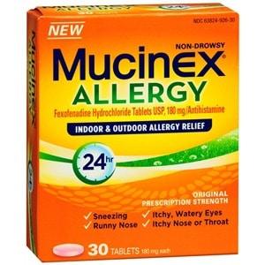 photograph regarding Mucinex Printable Coupon known as Printable Coupon: $6 off Mucinex Allergy + Aim Package