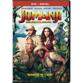 Jumanji: Welcome to the Jungle DVD: $4.96 (84% off)