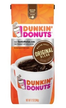 Printable Coupon: $1 off  Dunkin Coffee Product + Target Deal