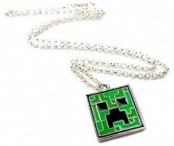Minecraft-Creeper-Pendant
