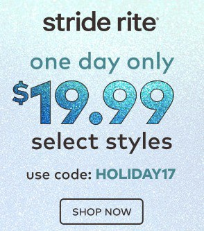 Stride Rite: Select Styles $19.99 + FREE shipping