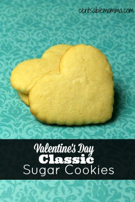 Create some simple Valentine's Day fun with this Classic Sugar Cookie recipe.