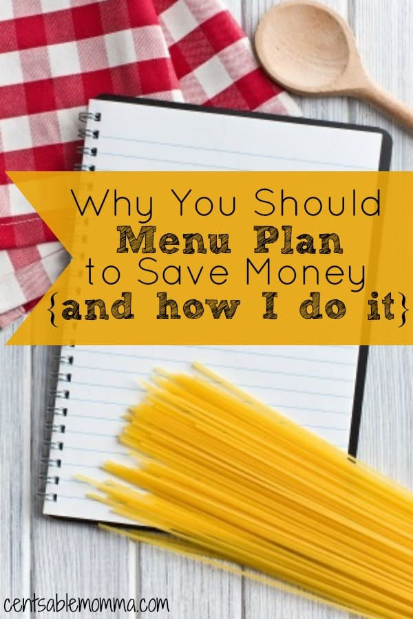 Do you find yourself wondering what to make for dinner each evening? Check out why you need to create a menu plan and how it can save you money. Plus, I share how I create my family meal plan each week.