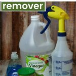 ingredients to make homemade soap scum remover