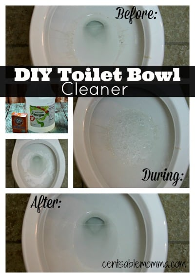 Clean your toilet bowl naturally with only 2 ingredients you likely already have around the house.