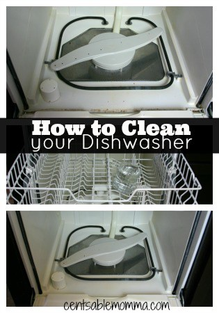 Just a couple ingredients (and one that might surprise you!) to clean your dishwasher.