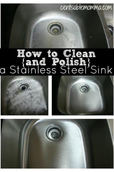 How To Clean {and Polish} A Stainless Steel Sink