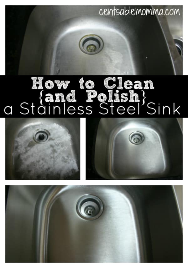 Does it seem like your kitchen sink is always dirty? Check out these tricks for how to clean {and polish} a stainless steel sink making it shiny again using natural ingredients that you already have around the house.