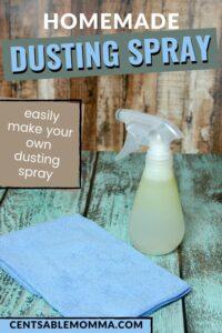homemade dusting spray