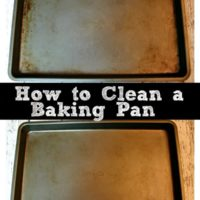 How to Clean a Baking Pan