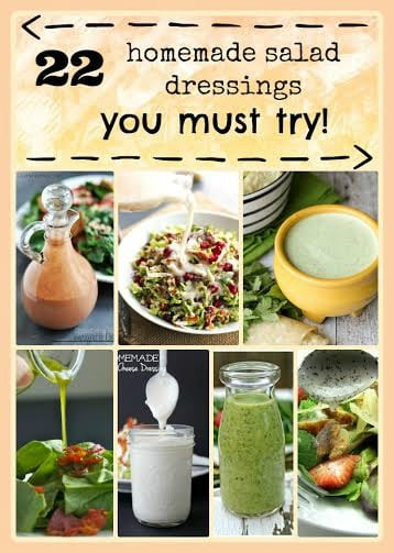 Looking to add some kick to your salads (and save money at the same time)? Try these 22 homemade salad dressing recipes.