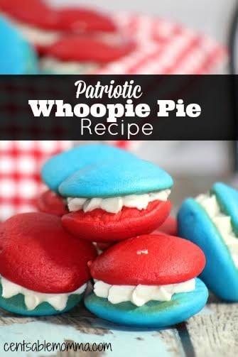 Patriotic Whoopie Pie Recipe