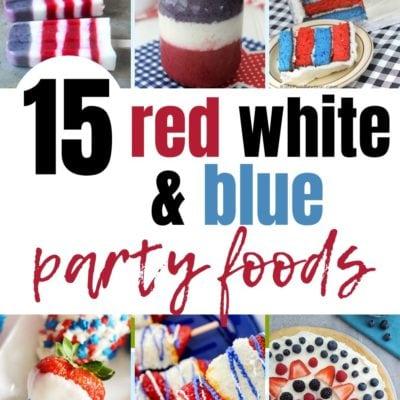 15 Patriotic Party Foods