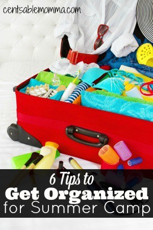 6 Tips to Get Organized for Summer Camp