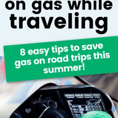 How to Save Money on Gas While Traveling