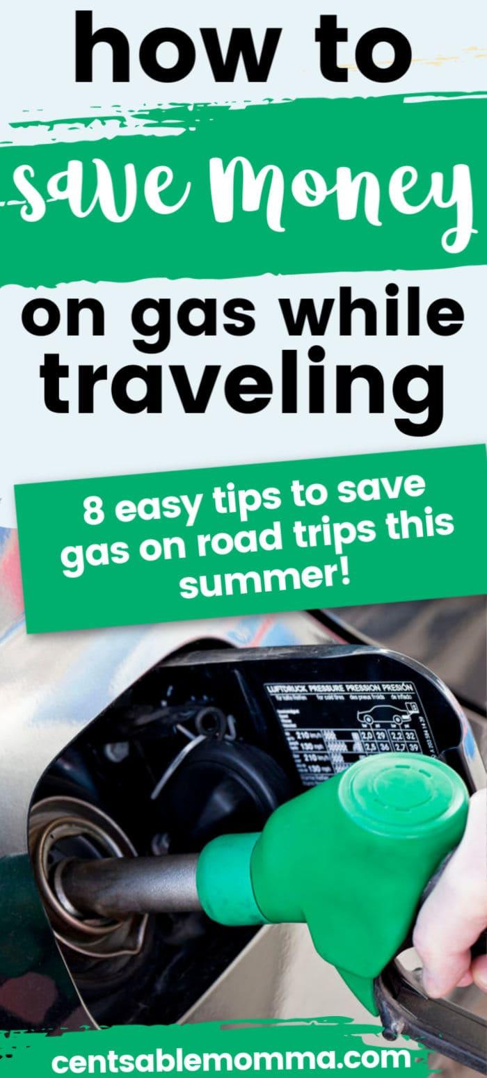 Como poupar dinheiro em gás enquanto viaja 4