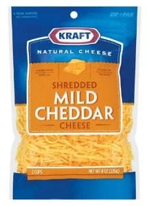 Printable Coupon: $1 off Kraft Shredded Cheese + Walmart Deal
