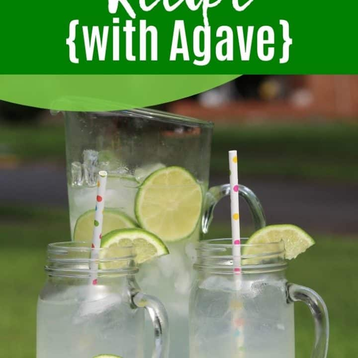 Limeade Recipe {with Agave}