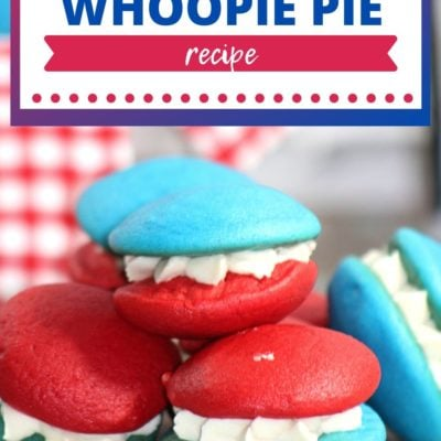 Patriotic Whoopie Pie Recipe