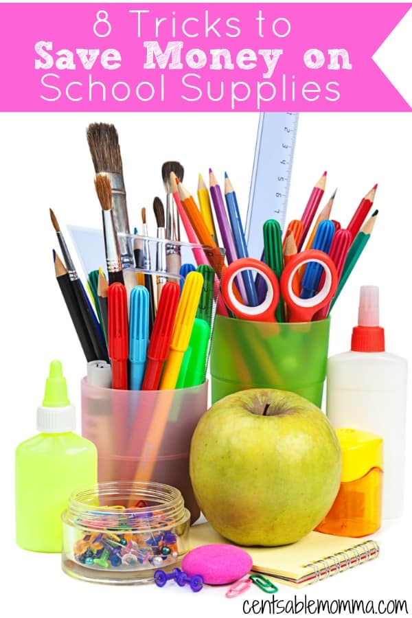 Need supplies for back-to-school? Check out these 8 Tricks to Save Money on School Supplies before you go shopping.