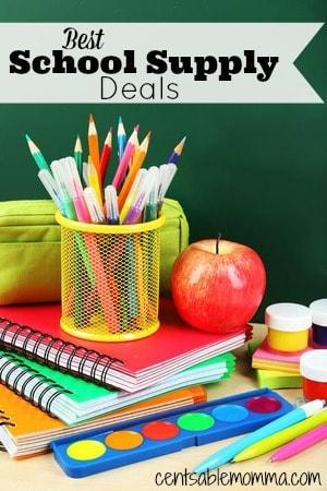 Best of…Back to School Supply Deals – 7/17/16