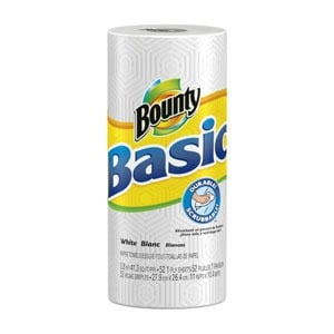 Printable Coupon: $0.50 off Bounty Basic Paper Towels + Target Deal
