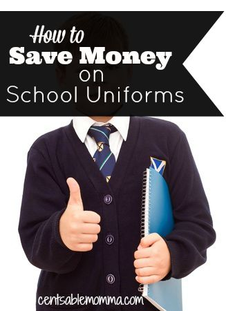 If you have a child who has to wear uniforms to school, check out these tips to save money on school uniforms.