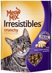 Printable Coupon: $0.55 off Meow Mix Irresistibles Treats + Target  or Walmart Deal