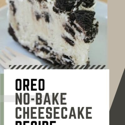 Oreo No-Bake Cheesecake Recipe